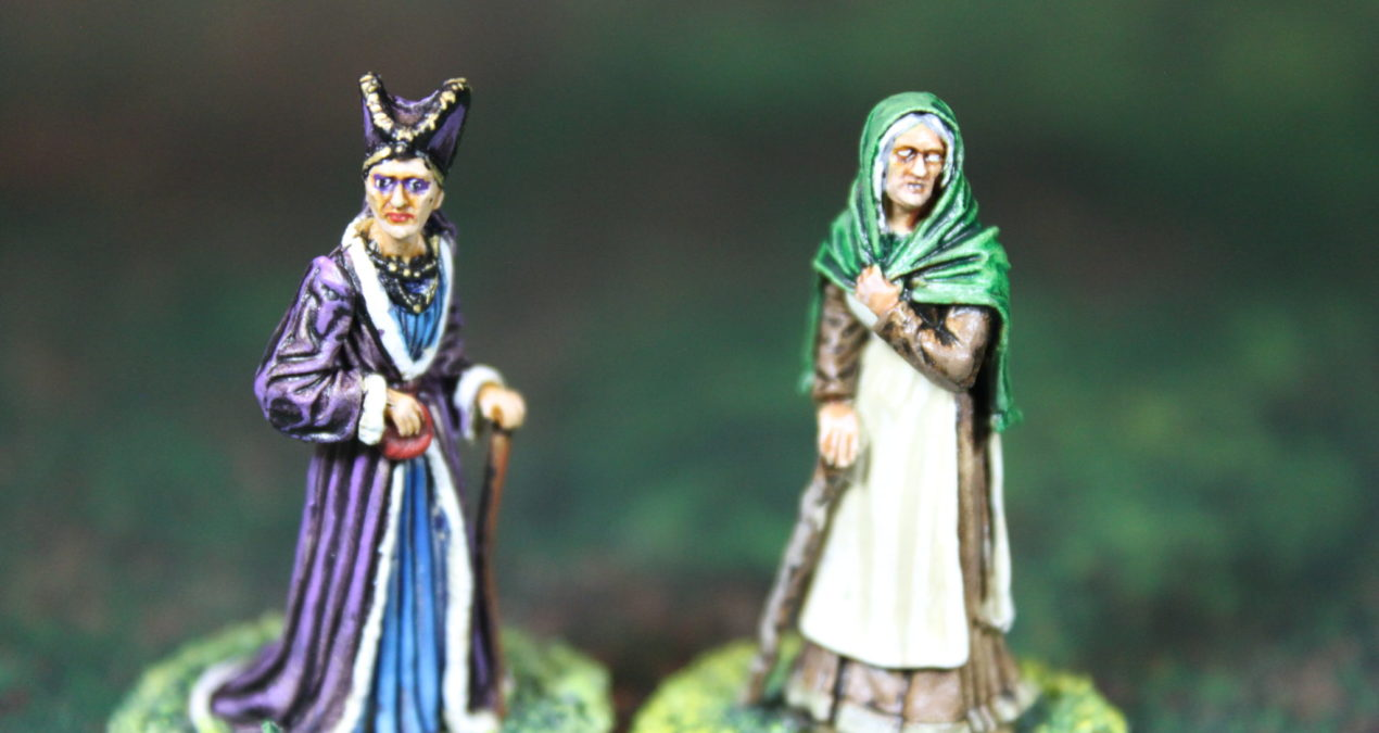 "Dungeons & Dragons – Old Nan and Lady Olenna ""The Queen of Thorns"" (Darksword Miniatures)"