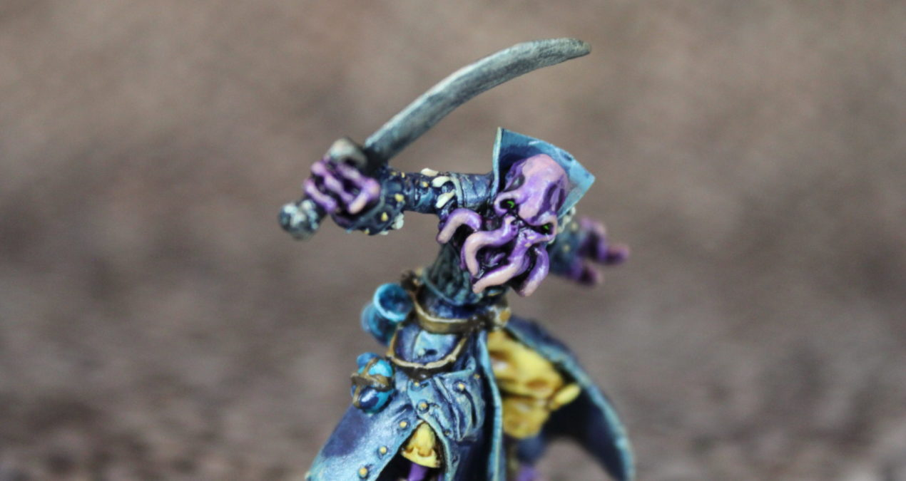 Dungeons & Dragons – B'Thuhl, Bathalian Pirate (Reaper Miniatures)