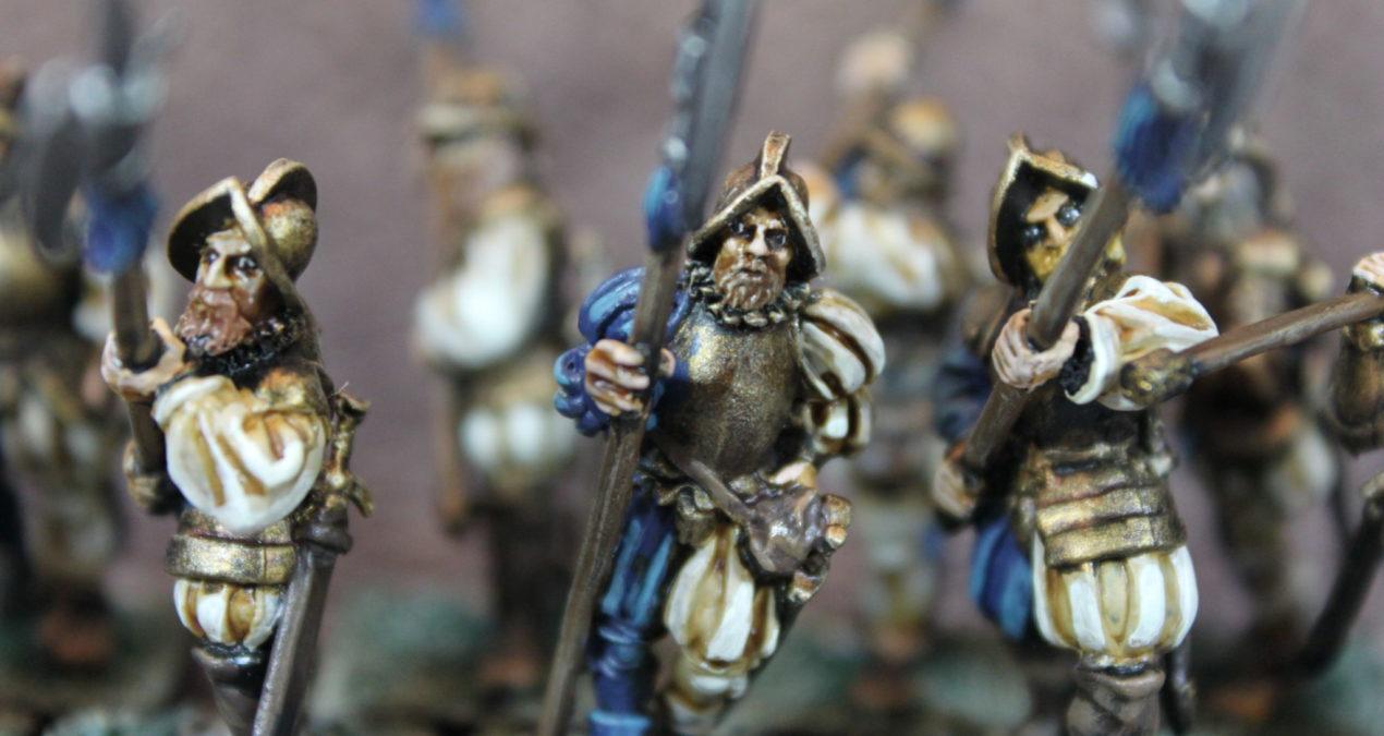 Dungeons & Dragons – Imperial Halberdiers (Gamezone miniatures)