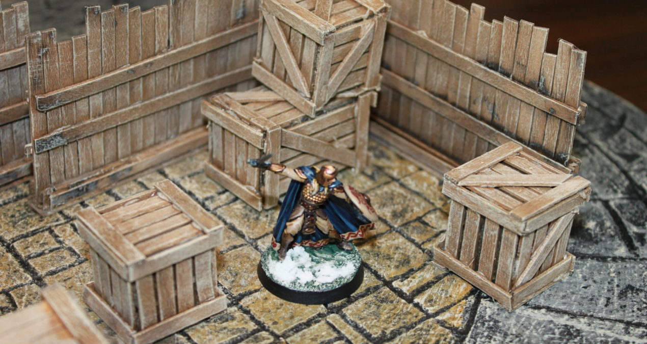 Dungeons & Dragons – Crates and Palisades