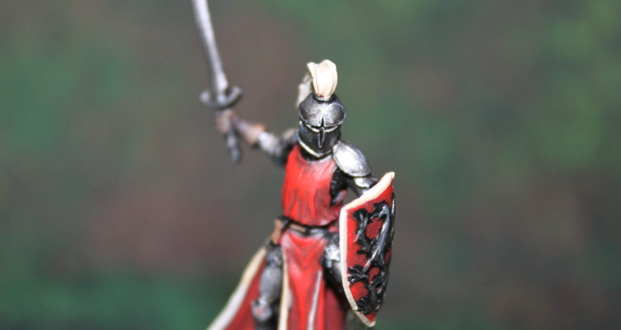 Dungeons & Dragons – Male Knight with Sword and Shield (Darksword Miniatures)
