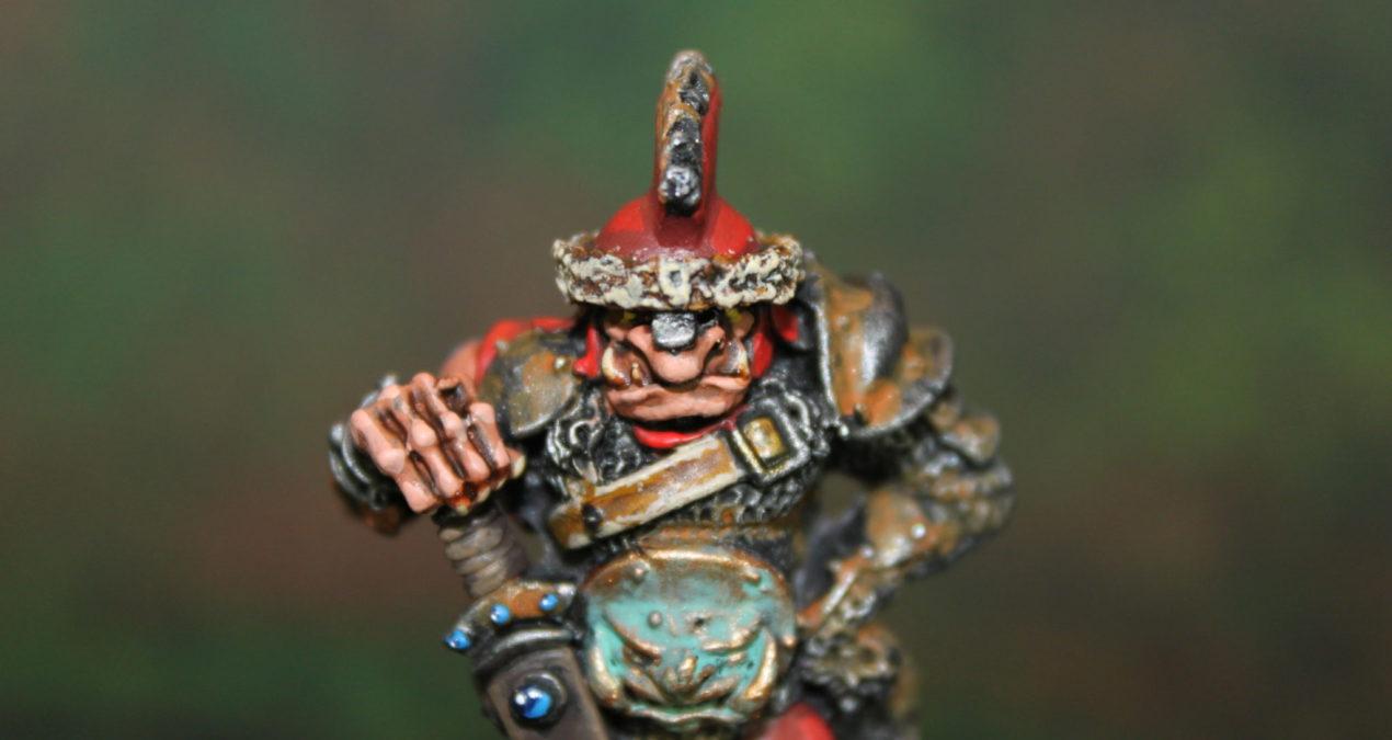 Warhammer 40.000 – Rogue Trader – Hrothyogg – Ogre Captain (Games Workshop)