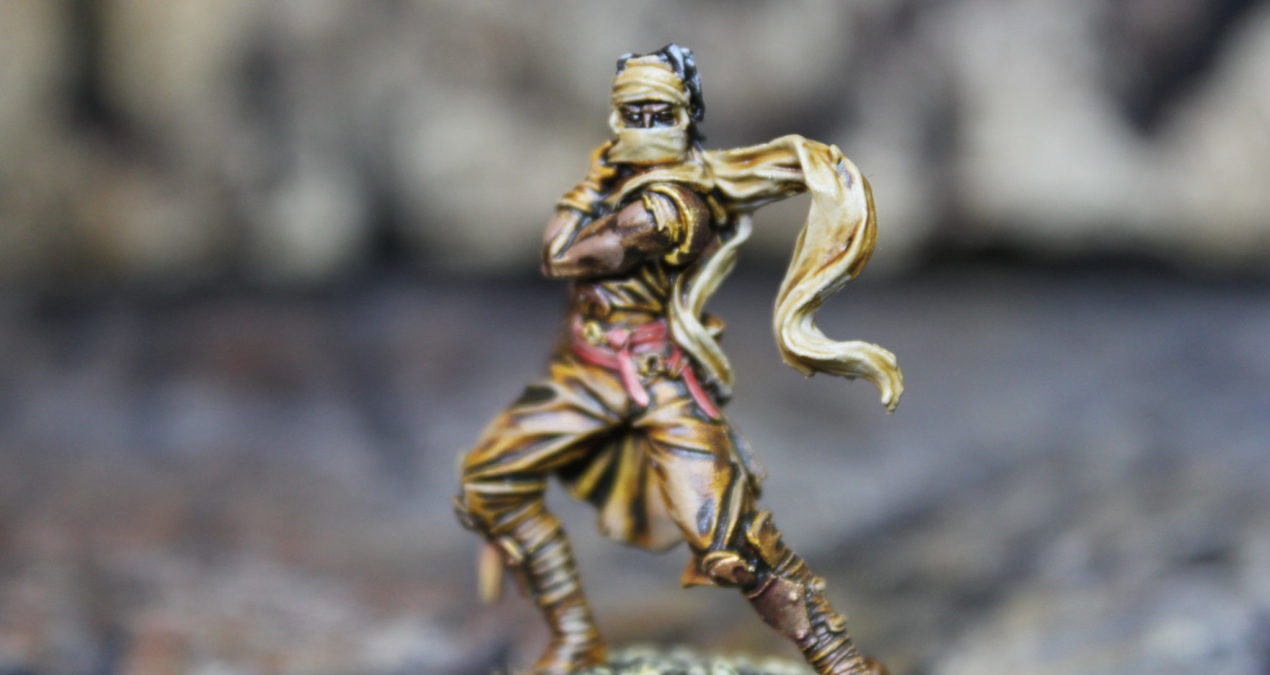 Dungeons & Dragons – Male Assassin (Darksword Miniatures)