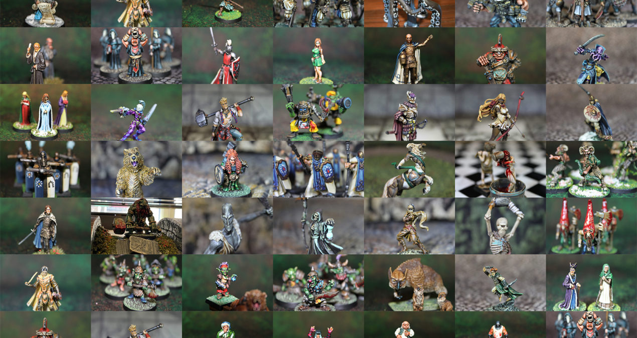 MEGA POST – My 2020 painted miniatures!