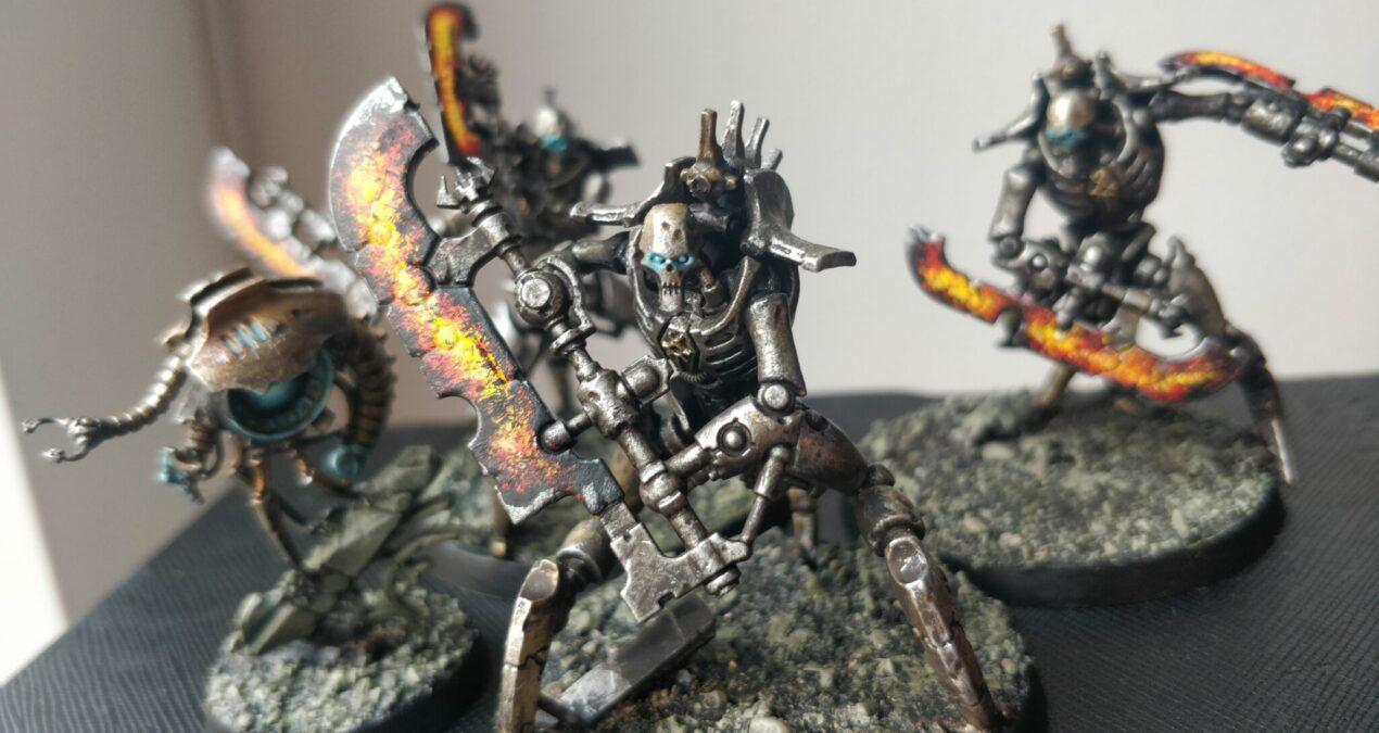 Dungeons & Dragons – Iron Golem Crawlers (Skorpekh Destroyers by Games Workshop)