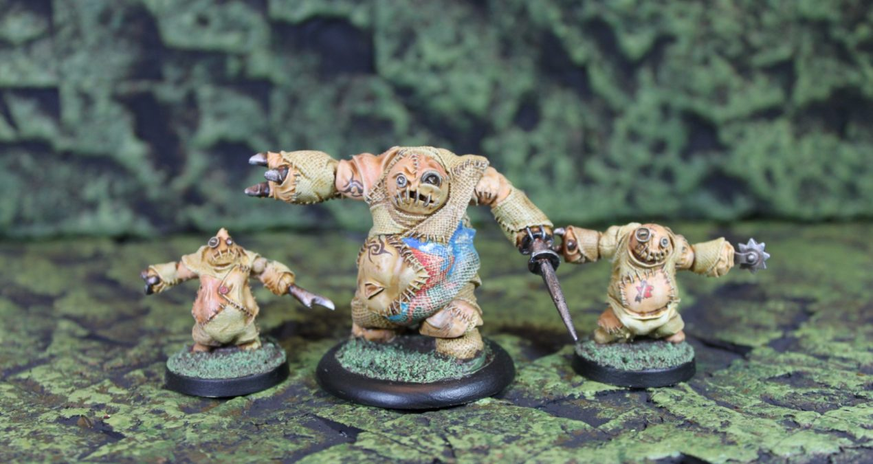 Dungeons & Dragons – Stitch Golems (Reaper Miniatures)