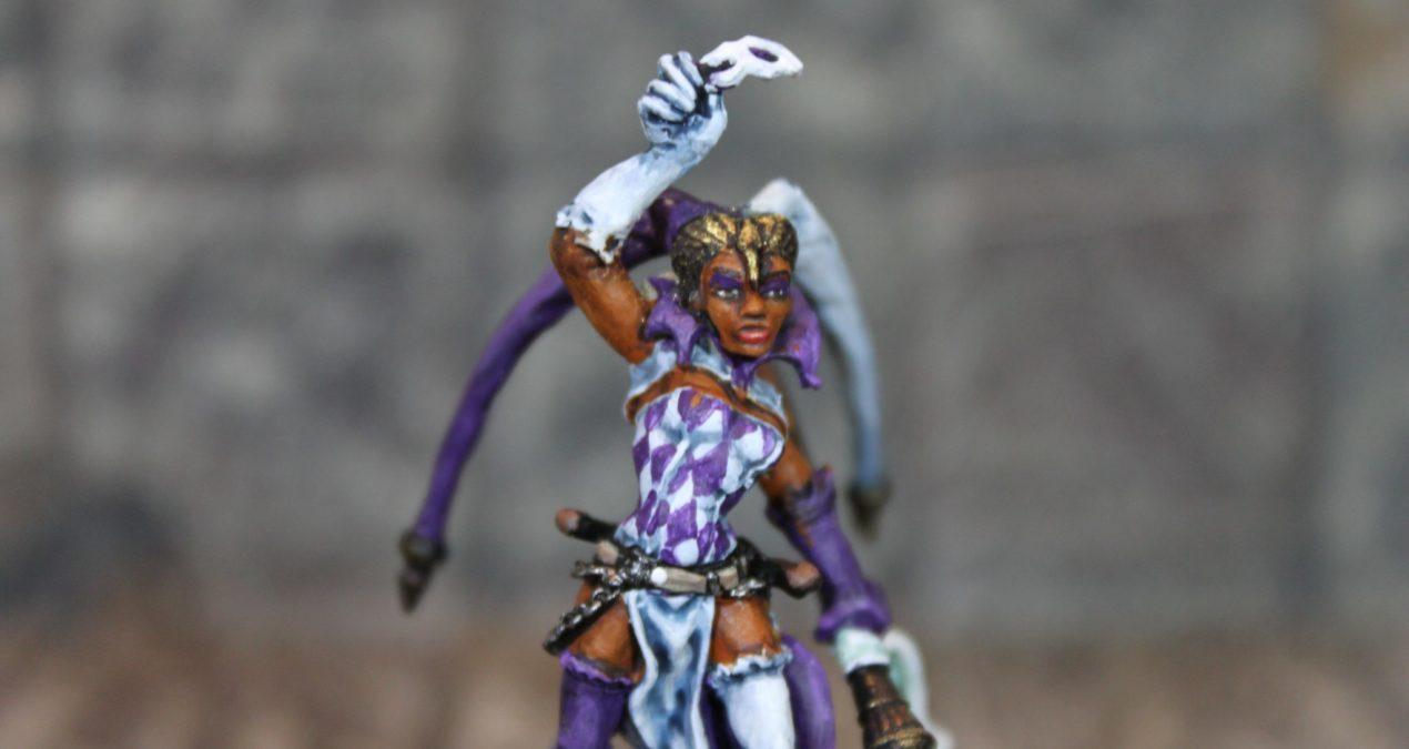 Dungeons & Dragons – Master Harlequina (Freebooter Miniatures)